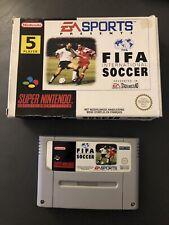 FIFA International Soccer Super Nintendo Snes