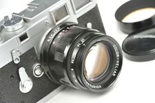 Voigtlander 75mm f:2.5 COLOR-HELIAR LTM, rangefinder lens