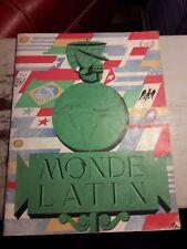 """Ancienne Revue """" Monde Latin """" De 1945"""