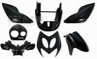Cubierta Kit de Disfraces piezas Revestimiento Negro para YAMAHA AEROX MBK NITRO