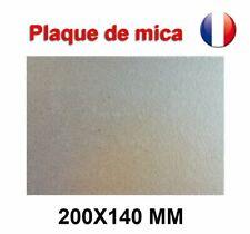 Plaque de Mica à découper Pour Four Micro-Ondes Universelle 200X140 mm France