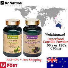 Superfood - Dr.Natural Avocado, Maquiberry, extract powder 650mg 60's or 130's