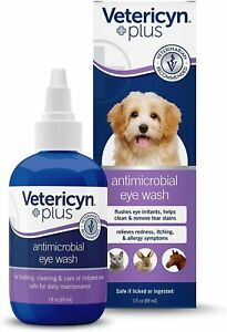 Vetericyn Plus All Animal Eye Wash. Pain-Free Solution for Abrasions and...