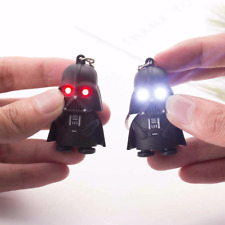 Darth Vader LED Light Keychain Shining Eyes Keyring Star Wars IX Movie Fob