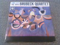 THE DAVE BRUBECK QUARTET - TIME OUT LP / RARE EARLY UK CBS MONO BPG FLIPBACK