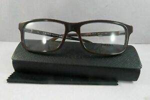 Prada Women's Burgundy Glasses and case VPR 06S USF-1O1 56mm