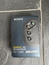 Sony Walkmann WM - DD22 Quarzt blau metallic