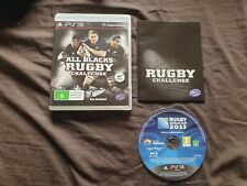 All Blacks Rugby Reto Sony Playstation 3 juego PS3