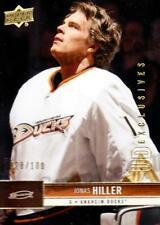 2012-13 Upper Deck UD Exclusives #7 Jonas Hiller