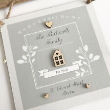 Personalised Family Home Sweet Home Sign/Plaque Wall Hanging PH66