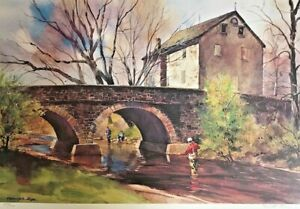 RANULPH BYE, Bucks County Artist, Cache of 26 Signed & Numbered Prints