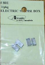 Alexander Scale Models #801 Electric Meter Box / HO ( Light Casting )