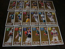 2005 Topps Football---Turn Back The Clock---Lot Of 18---Dupes---See List
