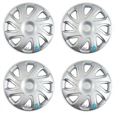 "4 NEW 14"" inch Silver Hubcaps Wheel Covers Set for 2000-2002 Toyota Corolla"
