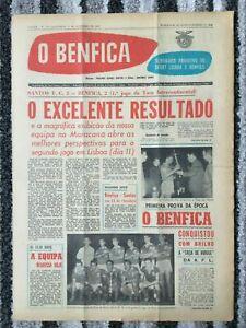 1962 INTERCONTINENTAL CUP Santos v Benfica (1st Leg) REVIEW