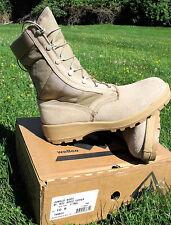 WELLCO Desert Tan Hot Weather Jungle Mil Spec Upper Boots V-trax 10 R 10.5 R