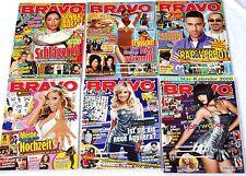 6 BRAVO-Hefte 2007 KOMPLETT inkl. aller Poster & Extras! Tolle Sammlung Magazine