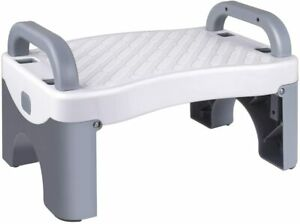 Kids Foldable Foot Stool Toddler Stool for Toilet Potty Training with Anti-Slip