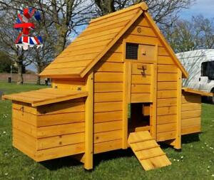 Quality CHICKEN COOP HEN HOUSE POULTRY ARK NE ST BOX x4