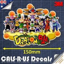 Dragon Ball SUPREME Decal Vinyl Sticker Luggage Skateboard Car Laptop Guitar