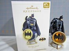 "2006 Hallmark QXI6153 ""The Bat-Signal"" Batman Ornament"