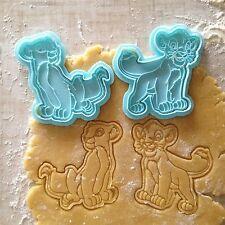 Simba & Nala cookie cutters set of 2.