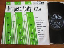 RARE JAZZ VINYL LP THE PETE JOLLY TRIO 1963 FRENCH 1ST PRESS NICE CONDITION NM