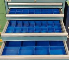 140 Blue Tool Storage System Tool Organizer for Workshop Toolbox Divider Bin Cup