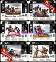"""Master Box """" Indian Wars Series - 6 variations """" Scale Plastic Model Kits 1/35"""
