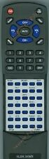 Replacement Remote for SYLVANIA SRT902A, SRT702A