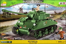 COBI Sherman Firefly (2515) - 500 elem. - WWII US/UK medium tank