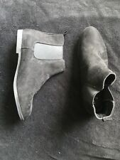 Size 6 Black Suede Girls Boots Anko Brand EU 37 AU/US 6 UK 4 Barely Worn
