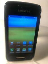 Samsung Wave Y GT-S5380D - Black (Unlocked) Smartphone Mobile