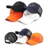 XL~2XL 61~64Cm Carpe Diem Unisex Mens Solid Color Baseball Cap Mesh Trucker Hats