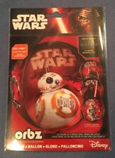 "ORBZ STAR WARS Disney See-Thru BALLOON 4 Sided Design Round Beach Ball 15"" x16"""
