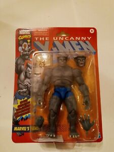 Marvel Legends Grey Beast Figure NEW X-Force The Uncanny X-Men Retro