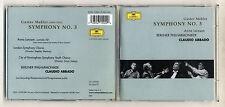 2 Cd Gustav MAHLER SYMPHONY No 3 Symphonie CLAUDIO ABBADO Anna Larsson