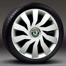 "4x14"" wheel trims, Hub Caps, Covers to fit Skoda Fabia"