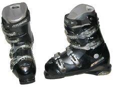Atomic Beta Carv 7.50 Advanced Ski Boots Mondo 26.0 (9 US Women) Black GUC