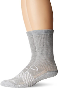 Copper Fit Crew Sport Socks, Pull On Closure, 98% Polyester 2% Spandex 2 Pack