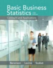Basic Business Statistics 13th Global Edition