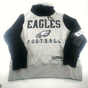 Womens NFL Philadelphia Eagles Football Ultra Game Hoodie Medium Raiders M