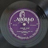 Charlie Barnet: Jubilee Jump / Deep Purple: Apollo Records 1948 (Jazz)