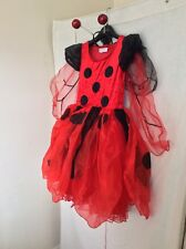Deluxe Lady Bird FancyDress/halloween Costume By  Frilly Lily 6/8 Yrs
