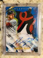 2020 Topps Inception - Austin Riley Jumbo Patch Relic Auto 1/10 ATL
