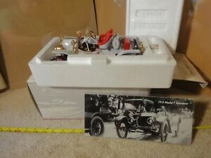 Precision 100 Collection 1913 Model T Ford Speedster, 1/18 scale diecast car NOS