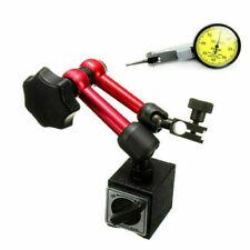 Dial Test Indicator DTI Gauge+Magnetic Base Stand Metric Precision Gauge Clock H