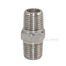 "2pcs Bsp 1//2 /""x 1//2 Pulgada Macho De Acero Inoxidable 304 Con Rosca tubo montaje Ss304 L 200mm"