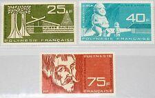 FRENCH POLYNESIA POLYNESIEN 1965 45-47 C34-36 Gauguin Museum Opening Maler MNH