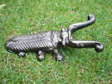 arrache bottes, statue scarabée en fonte patinée bronze, nouveau ! lot de 2 pcs